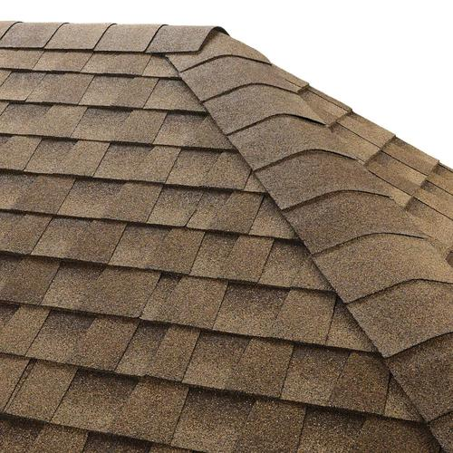 GAF Seal-A-Ridge IR 25-lin ft Shakewood Hip and Ridge Roof Shingles