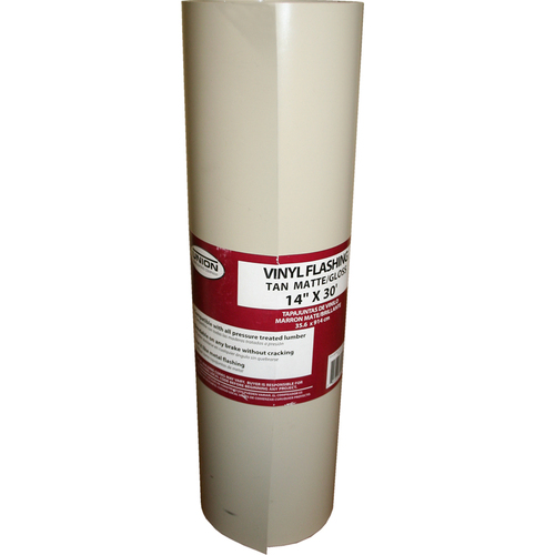 Union Corrugating 14-in x 30-ft Vinyl Roll Flashing