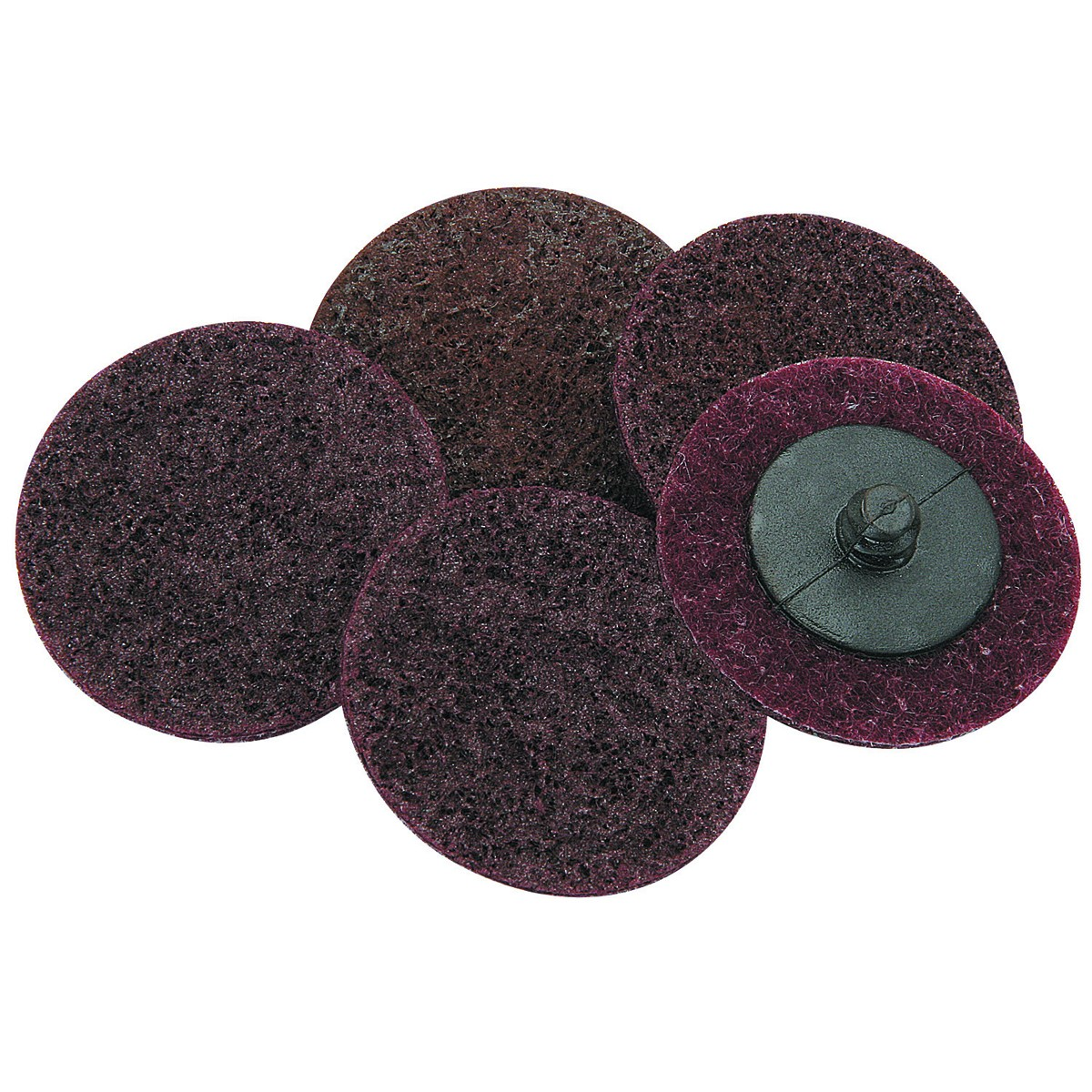 2 in. Medium Grade Fiber Surface Conditioning Discs 5 Pc